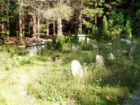 Lesní ruský hřbitov - Rejvíz