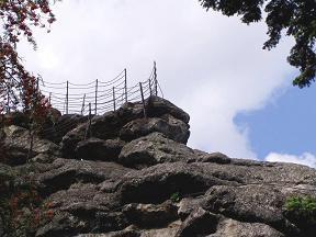 Vyhlídka Čertovy kameny - Jeseník