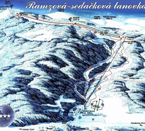 Lyžařské středisko Bonera - Ramzová
