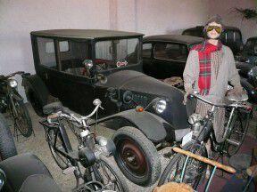 Veteran muzeum a ZOO park - Rapotín